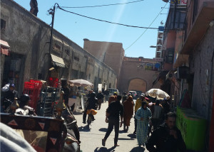 Marrakech, groente, tajine, kip, lam, kruiden, komijn, markt, brood, vers