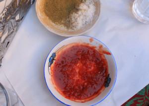 Marrakech, groente, tajine, kip, lam, kruiden, komijn, markt, brood, vers, riad Snan