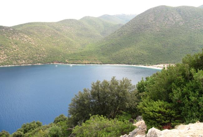 antisamos zomervakantie Kefalonia griekenland greece dendrolivano eten hotel bed breakfast strand