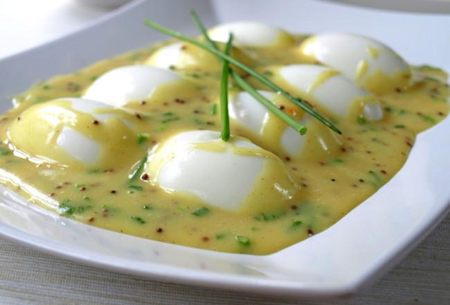 eieren, roux, mosterd, kampersteur, pasen, paasfeest